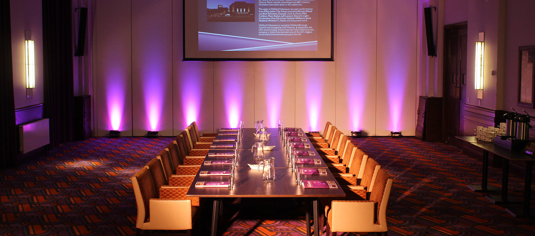 Cheap room hire for meetings in Watford