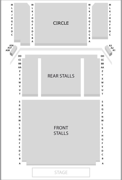 Seating Plan - Click for larger version
